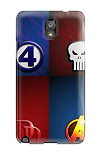 Best For Galaxy Case, High Quality Marvel For Galaxy Note 3 Cover Cases 5731696K99312184