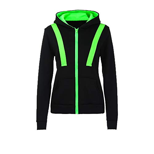 Womens Warm Hoodies Duseedik Lady Hoody Sweatershirt Hooded Jumper Pullover Coat Zip Jacket