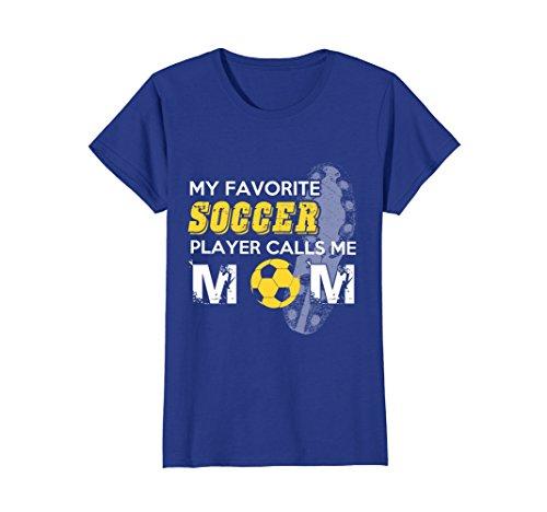Soccer Mom Ball (Womens Soccer Mom, Soccer, Gift for mom, Sports T-shirt XL Royal Blue)