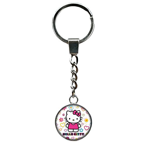 Hello Kitty Fashion Novelty Keychain Movie Cartoon Series with Gift Box