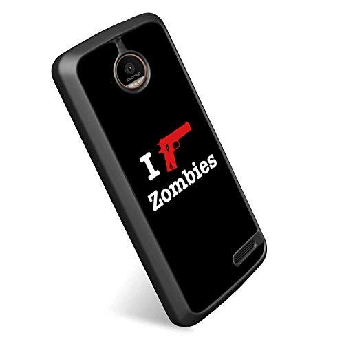 I Kill Zombies TPU Case Fit Motorola Moto E4 (2017) (5 Inch)