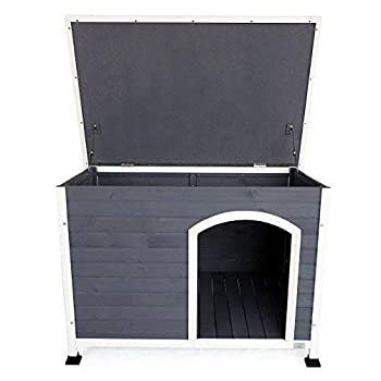 Image of Pet Supplies A4Pet Outdoor Wooden Dog House