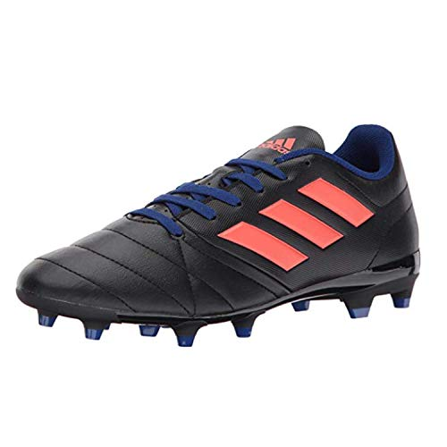 7.4 FG W Soccer Shoe, Black/Easy Coral/Mystery Ink, 9.5 Medium US ()