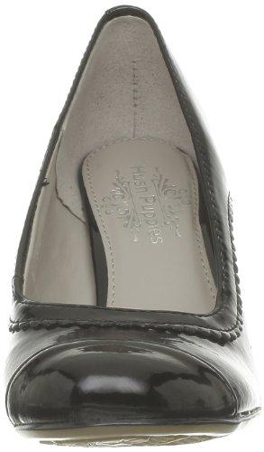 Hush Puppies - Zapatos de cuero para mujer Negro (Noir (Black Patent Pu))