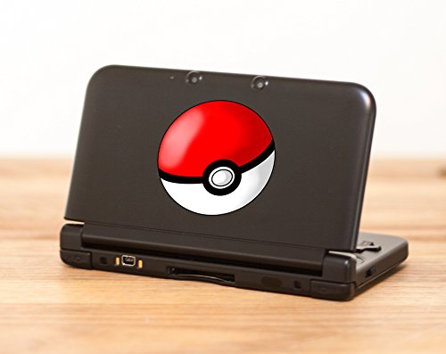 Pokeball Pokemon Decal– High quality decal for Nintendo 3DS XL – - Usps Priority Long Mail How