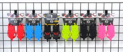 Ski Skooty Skiing Boot Traction Cleats - (1-Pair, Classic Version) - Adjustable Tracks Comfort Soles for Protection and Walking in Ski Boots