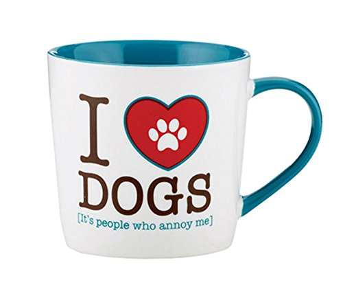 Animal Coffee Mug Heart Dogs product image
