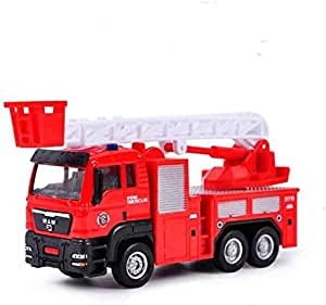 WYSD Chinese Fire Fighting Vehicle Simulation Model Toy-15cm