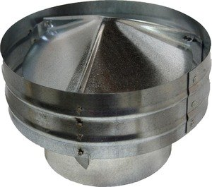 Commercial Gravity Roof Vent - Globe (6 Inch) (GGV6) by Luxury Metals LLC (Image #1)