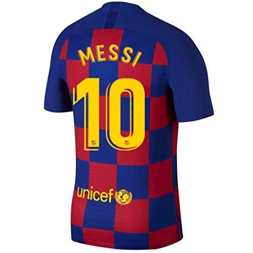 BADAWO #10 Lionel Messi Soccer Jersey Barcelona Home Mens 2019-2020 Season Jersey