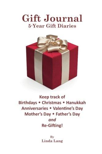 Gift Journal: 5-Year Gift Diaries (B&W Edition) (Linda Lang's Life Journals) (Volume 1)