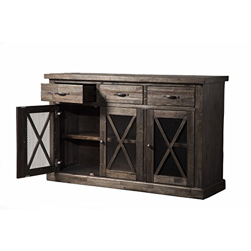 French Antique Buffet - Svitlife Newberry Sideboard Sideboard Buffet Antique Oak Server Cabinet Mahogany Wood French