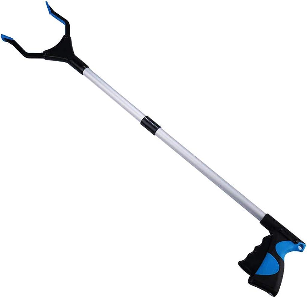LOVIVER Alliage daluminium pliant Grabber Reacher Litter Picker Pick Up Reach Tool 81cm