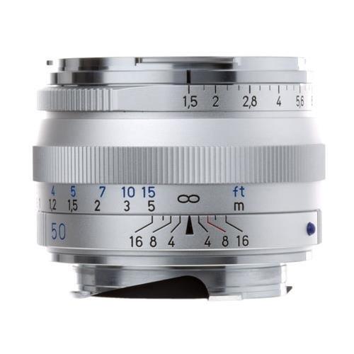 Zeiss Ikon 50mm f/1.5 C Sonnar T ZM Series MF Lens (Leica M-Mount) - Silver