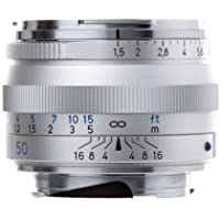 Zeiss Ikon 50mm f/1.5 C Sonnar T* ZM Series MF Lens (Leica M-Mount) - Silver