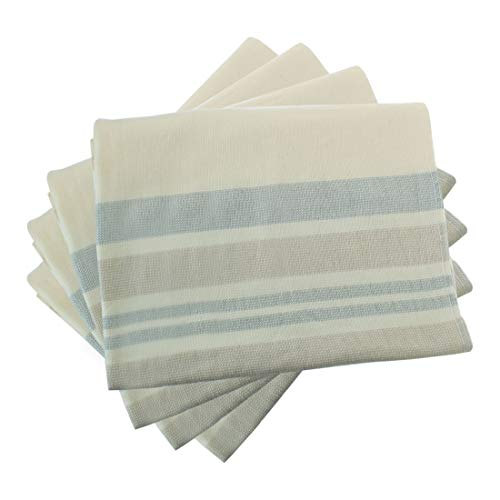 """uxcell 4 Pack Cotton Dish Towels 30"""" x 18"""", Machine Washable"""