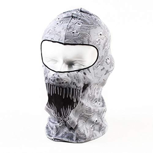 New Bicycle Tactical Winter Sport Helmet Liner Hood Hats Cap Snowboard Halloween Full Face Mask -