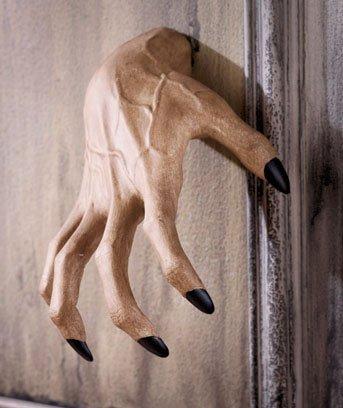 1 X Creepy Clawing Hand Wall Hangers (Halloween Decor)