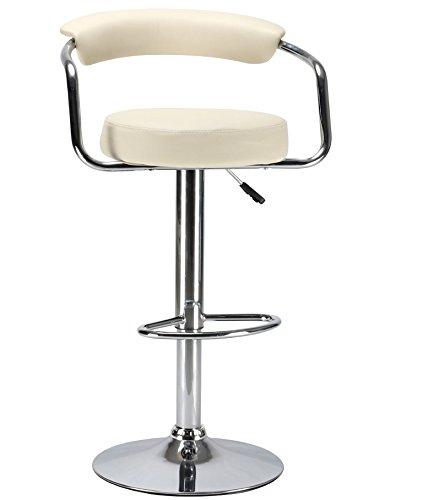 Amazon Kitchen Bar Stools: Black & Chrome Swivel Bar Kitchen Breakfast Stools Chair