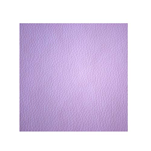 - Premium Soft Waterproof Solid Upholstery Vinyl Baby Purple Decorative Fabric