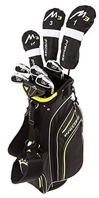 Tartan Premium Men's Complete Full Golf Club Set (Men's, Right Hand, Black/Lime)