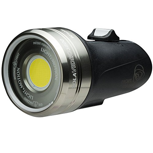 Light & Motion Sola Video 3800, Black/Titanium