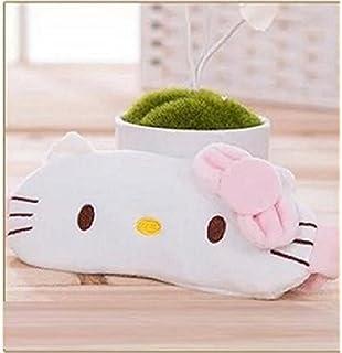 CJB Lovely Hello Kitty Eye Mask For Sleeping Travel Games KT Smile US Seller