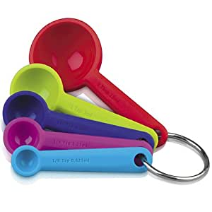SILICONE MEASURING SPOON SET J137