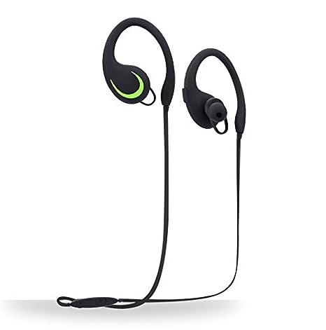 TechCode Bluetooth Cuffie Sport Wireless Bluetooth cuffie con microfono  Noise Cancelling Head Set inglese Voice auricolari ... 821b3420f796
