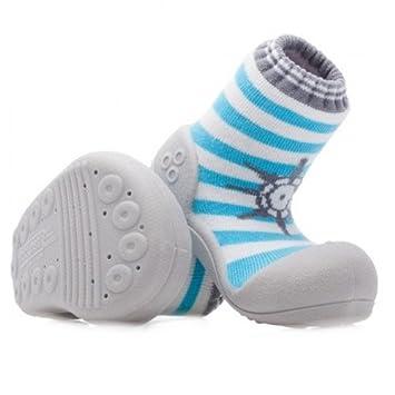 Amazon.com: attipas Gran caja de Toe bebé Shoe Marino, S ...
