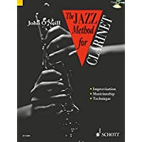 Jazz Method for Clarinet (Tutor Book & CD)