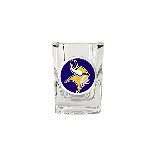- Roy Rose Gifts NFL Minnesota Vikings 2oz Square Shot Glass