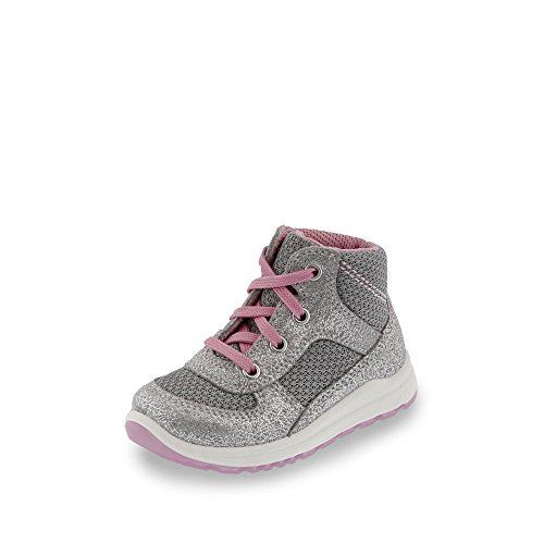 Superfit 0-00432 Baby - Mädchen Sneakers Grau