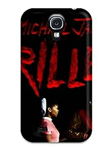 Pretty MXBXneE0WYWlO Galaxy S4 Case Cover/ Artistic Mj Michael Jackson Series High Quality Case