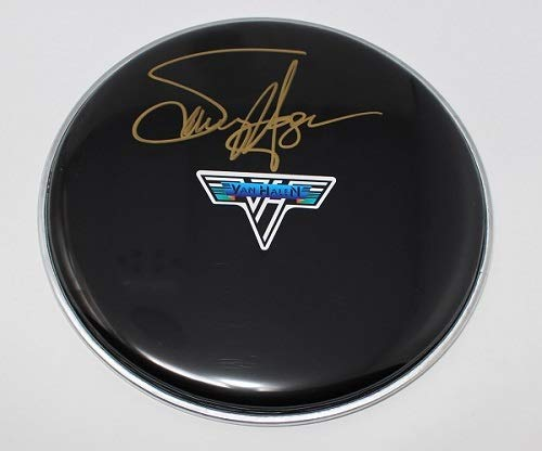 Van Halen 5150 The Red Rocker Sammy Hagar Authentic Signed Autographed Ebony Drumhead Loa