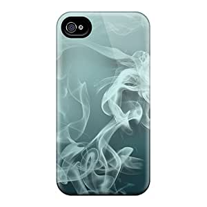 Premium Smoke Heavy-duty Protection Case For Iphone 4/4s