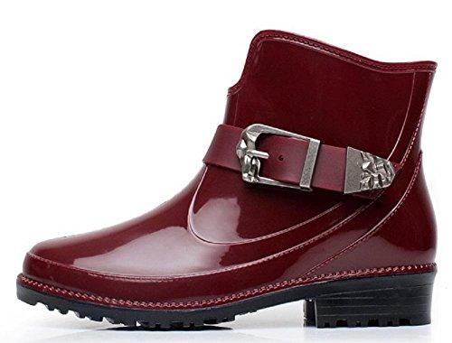 Unidos Martin los la Estados de lluvia Europa de moda botas y Red de qwZ85x6t