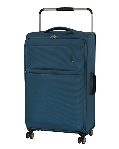 ae133c87d it luggage World's Lightest Debonair 31.5' 8-Wheel Spinner, Two Tone Blue
