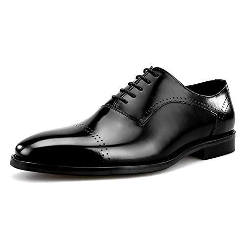 Vestito Affari 38 Nozze Uomo Black Appartamento Lavoro Pelle Scarpe Formale Festa 44 Punta A Punta Oxfords Taglia Nero twZrIZqYx