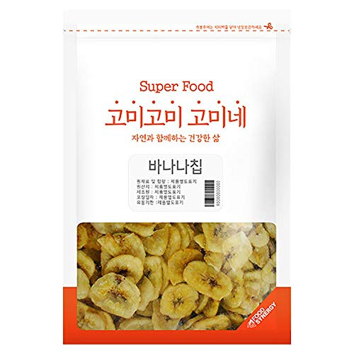 Gomine Banana Chips, 500g, Lightly Fried Banana Slice with Coconut Oil, Everyday Snack for Kids & Adults, Sweet and…