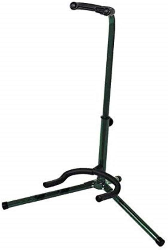 BSX 518053 - Soporte para guitarra acústica y eléctrica, color verde
