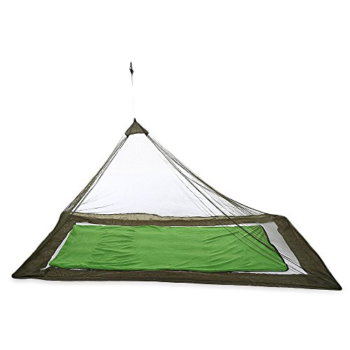 〖2018 NEW〗Outdoor Compact Lightweight Tent Mosquito Net Canopy for Single Camping Bed by SANDAO