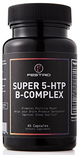 #1 POST Rave Festival Party RECOVERY 5-HTP Multivitamin (Mood Enhancing Booster) Step 2 Supplement