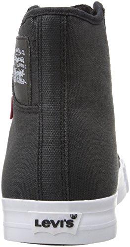 Levis Mens Hamilton Buck Ii Fashion Sneaker Zwart