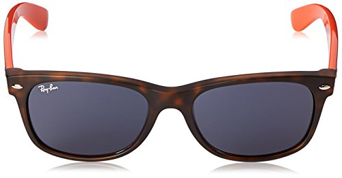 mm Wayfarer et Tortoise New 55 Ray Red RB2132 Ban Tortue Lunettes Wayfarer de Rouge Soleil And wOOzHn0q1