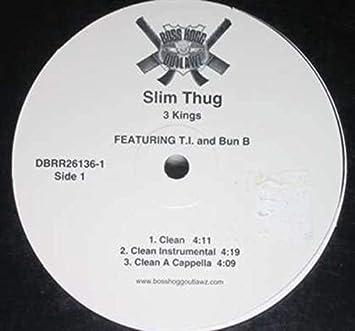 Slim Thug Featuring T I  and Bun B - 3 Kings - Amazon com Music