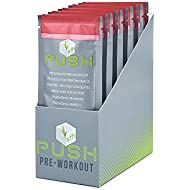 PUSH Pre-Workout Powder (Fruit Punch) by SFH® | Best...