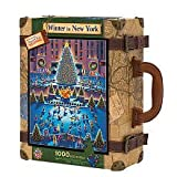 Master Pieces - Explore America - Rockefeller Center, New York City - Suitcase Jigsaw Puzzle - 1000 Pc