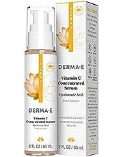 DERMA E Vitamin C Serum with Hyaluronic Acid, 2 oz