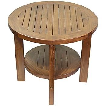 Amazon Com Outdoor Interiors 19470 Eucalyptus End Table
